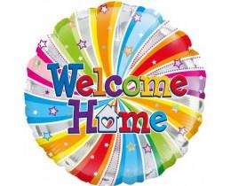 Folieballon Welcome Home