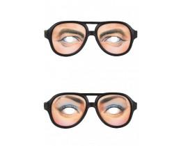 Bril met ogen Man