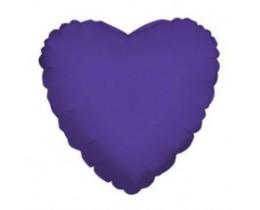 Folie ballon Hart paars