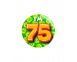 Button 75 jaar