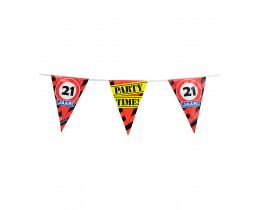 Vlaggenlijn 21 jaar Verkeersbord