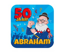 Huldeschild Abraham Cartoon
