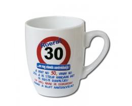 Mok 30 jaar Verkeersbord