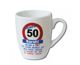 Mok Sarah 50 jaar Verkeersbord