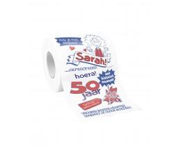 Toiletpapier Sarah 50 jaar