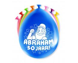 Ballonnen Abraham 50 jaar
