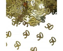 Sierconfetti 50 goud