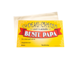 Cadeau Cheque Papa
