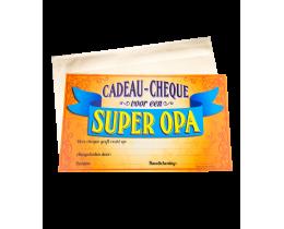 Cadeau Cheque Opa