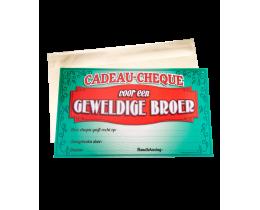 Cadeau Cheque Broer
