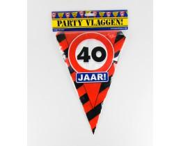 Vlaggenlijn 40 Verkeersbord