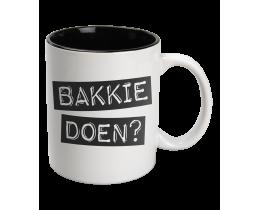 Black & White Mok Koffie