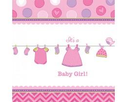 Tafelkleed baby-girl