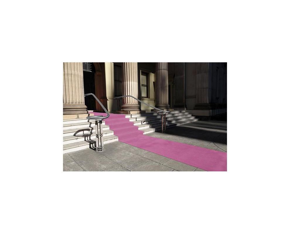 Roze loper 2x1 meter