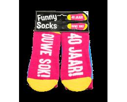 Funny Socks 40 jaar