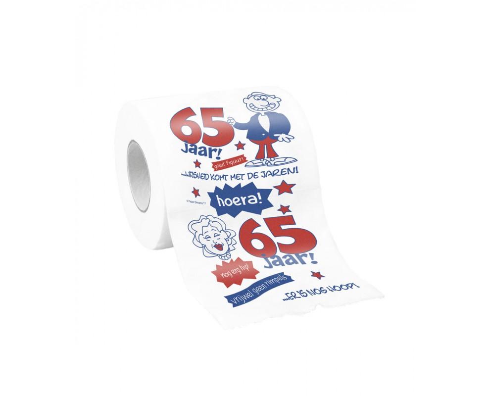 Toiletpapier 65 jaar