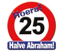 Huldeschild Halve Abraham