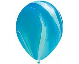 Ballon Super Agate Blue