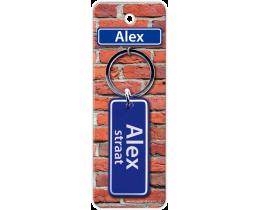 Alex Straat sleutelhanger