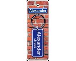 Alexander Straat sleutelhanger