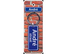 André Straat sleutelhanger