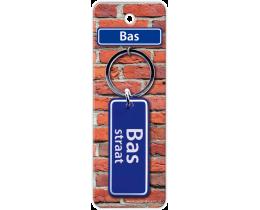 Bas Straat sleutelhanger