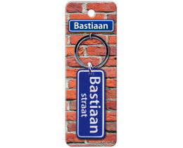 Bastiaan Straat sleutelhanger