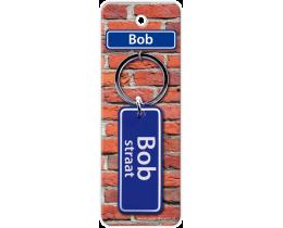 Bob Straat sleutelhanger