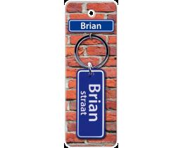 Brian Straat sleutelhanger