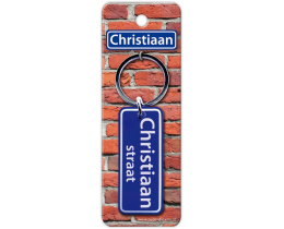 Christiaan Straat sleutelhanger