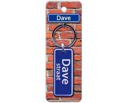 Dave Straat sleutelhanger