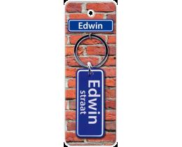 Edwin Straat sleutelhanger