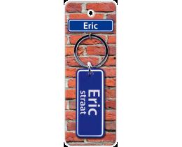 Eric Straat sleutelhanger