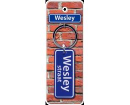 Wesley Straat sleutelhanger