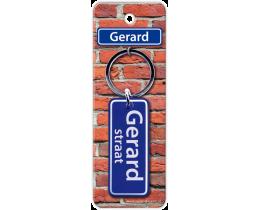 Gerard Straat sleutelhanger