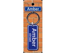 Amber Straat sleutelhanger