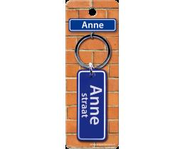 Anne Straat sleutelhanger