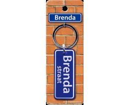 Brenda Straat sleutelhanger