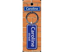 Caroline Straat sleutelhanger