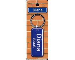 Diana Straat sleutelhanger