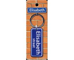 Elisabeth Straat sleutelhanger