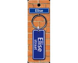 Elise Straat sleutelhanger