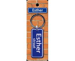 Esther Straat sleutelhanger