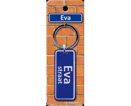Eva Straat sleutelhanger