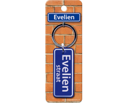 Evelien Straat sleutelhanger