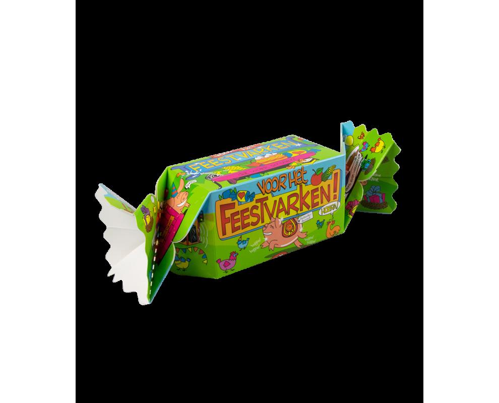 Snoepverpakking Feestvarken