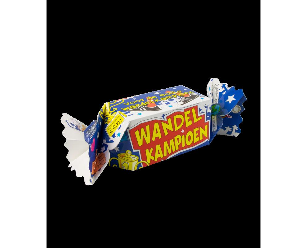 Snoepverpakking Wandelkampioen