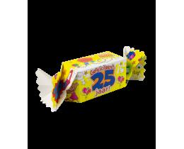 Snoepverpakking 25 jaar