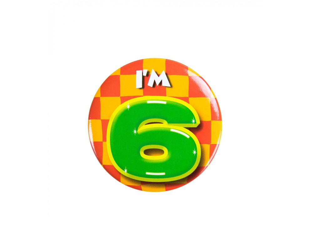 Button 6 jaar