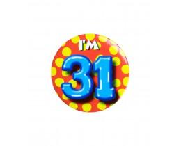 Button 31 jaar